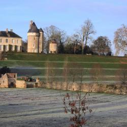 Vue des Terrasses en hiver